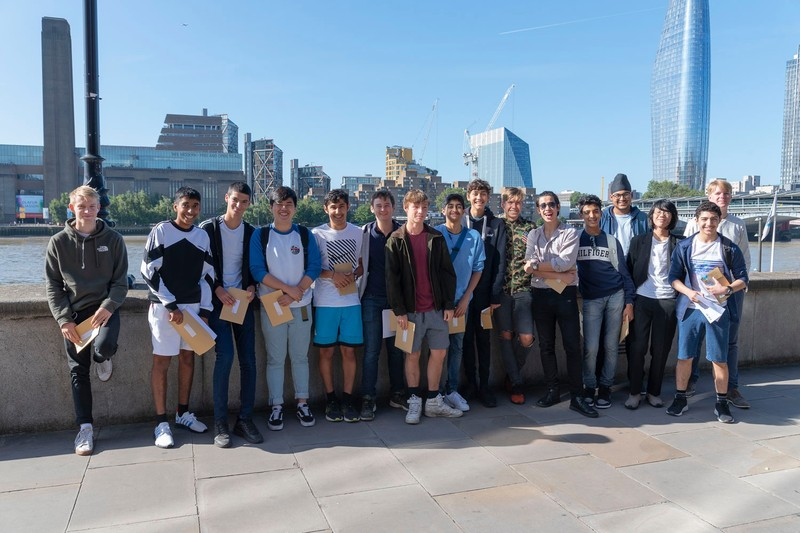 CLS celebrates exam success - City of London School